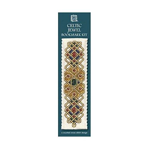 Textile Heritage Counted Cross Stitch Bookmark Kit - Celtic Jewel