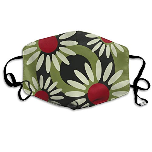 - The Spring Autumn Daisies Allergy & Flu Mask - Comfortable, Washable Protection from Dust, Pollen, Allergens, Cold & Flu Germs Antimicrobial; Asthma Mask