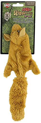 Ethical Skinneeez Chipmunk 12-Inch Cat Toy