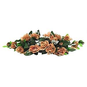 Rose Swags MANY COLORS Silk Wedding Flowers Chuppah Arch Gazebo Centerpiece 1