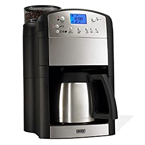 BEEM Germany Fresh-Aroma-Perfect Deluxe, Kaffeemaschine mit Mahlwerk,...