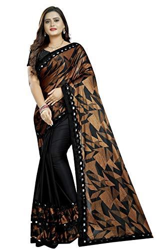 Printed Bollywood Lycra Blend Saree