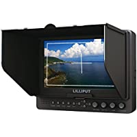 Lilliput 665/O/WH 7 WHDI Wireless HDMI Field Monitor for Full HD Camcorder DSLR