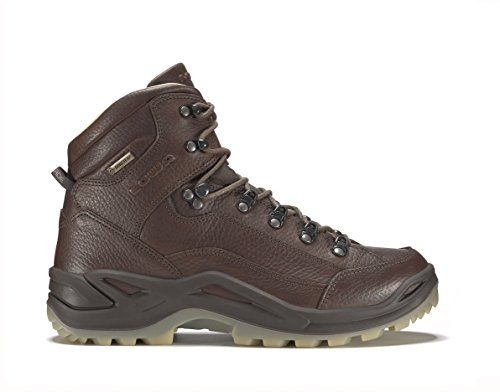 LOWA Outdoorschuhe Renegade 90 GTX MID MEN . Topmodell. Goretex. Leder. Premium Version. Kastanie.