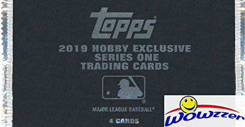 2019 Topps Series 1 Baseball HOBBY EXCLUSIVE Factory Sealed SILVER PACK! EXCLUSIVE Chrome Cards in 1984 Design! Look for Autos of Derek Jeter, Mike Trout, Shohei Ohtani,Bo Jackson & Many More! WOWZZER