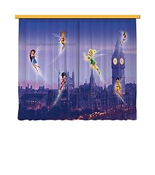 ag design fcs xl cortinas para habitacin infantil diseo de las hadas de