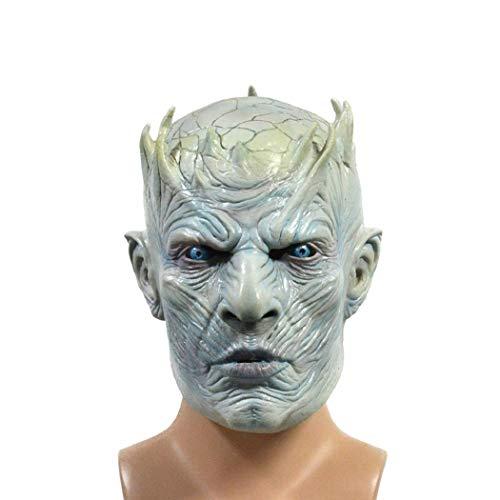 tinstree Halloween mask Men's Game of Thrones Men's Full Head Mask Blue]()