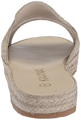 Grey Sandal Pool Woven Slide KAANAS Martinique Women's wCqUnxq7TS