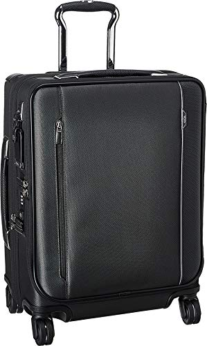 (Tumi Men's Arriv¿ Continental Dual Access 4 Wheeled Carry-On Pewter One Size)