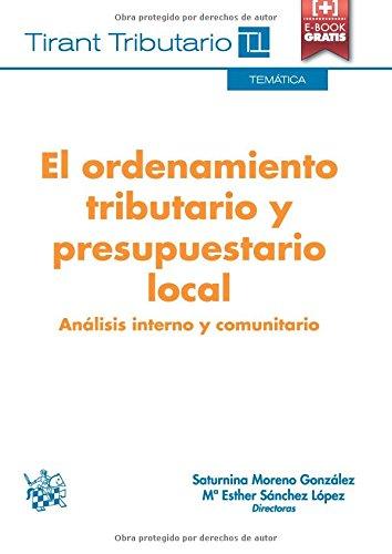 Descargar Libro El Ordenamiento Tributario Y Presupuestario Local Fernando Fernández Marín