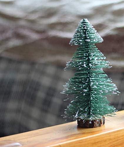 Lanfeng - Adornos para mesa de árbol de Navidad: Amazon.es: Hogar