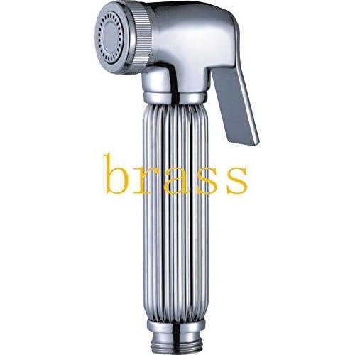 "Solid brass Bidet Sprayer Handle Shattaf Douche set Shower head 7/8"" 60%OFF"