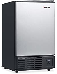 Lorell LLR73210 Stainless Steel Ice Maker/Refrigerators, 19 L