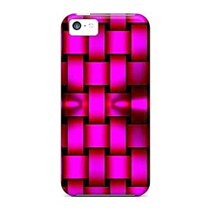 Mialisabblake NeAFzoj8397yfCJB Protective Case For Iphone 5c(pink Weave)