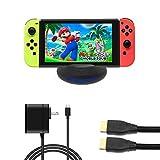 J&TOP Portable Dock Set for Nintendo Switch
