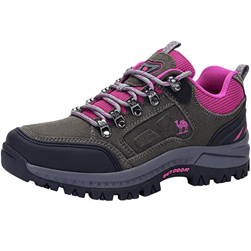 Used, CAMEL CROWN Women's Waterproof Hiking Shoes Low Cut for sale  Delivered anywhere in Canada
