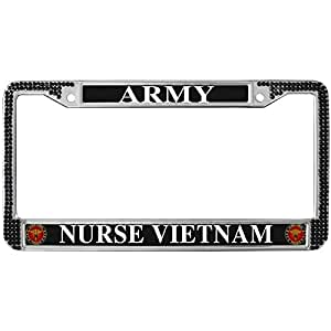 Amazon Com Gnd Personalized License Plate Frame Army