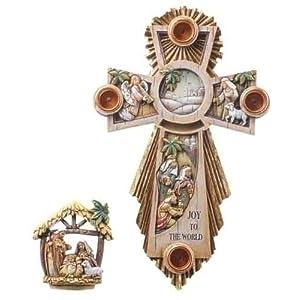 Advent Wreath - Holy Family Cross 87