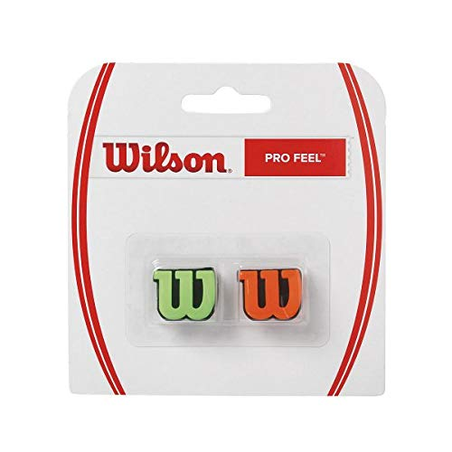 Wilson Pro Feel Vibration Dampener (Orange/Green)