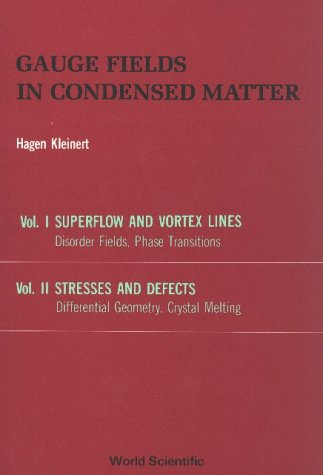 Gauge Fields in Condensed Matter (in 2 Volumes)