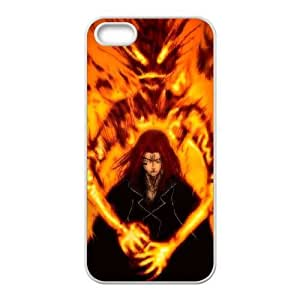 iPhone 5,5S Cell Phone Case White Bleach ATF026733