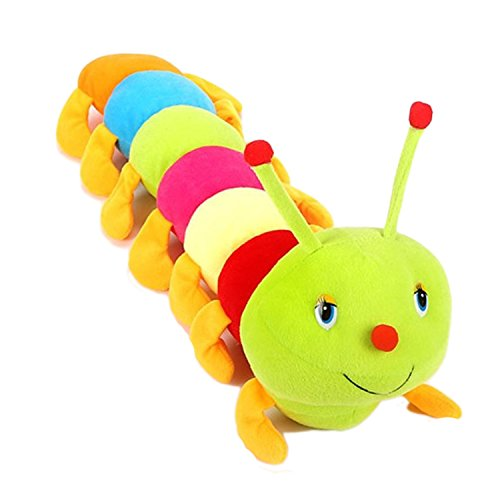 Edtoy Colorful Worm Stuffed Animals Toys Cute Plush Toys Worms Animals