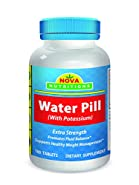 Water Pills 180 Tablets by Nova Nutritions