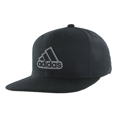 (adidas Men's Automatic Stretch Fit Cap, Black/Black, Small/Medium)