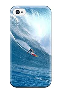 New Arrival Surf Ocean Wave Water Waves Surfboard Surfer People Sports NITHpGr5945cGSZi Case Cover/ 4/4s Iphone Case