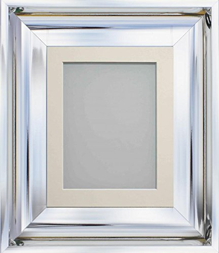silver modern picture frames. Frame Company Theodore Chrome Silver Modern Shiny Picture Photo Frames With  Mount *Choice Of Colours Silver Modern Picture Frames