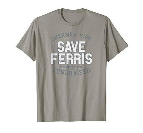 Ferris Bueller Shermer High Save Ferris T-Shirt