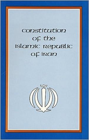 Book Constitution of the Islamic Republic of Iran