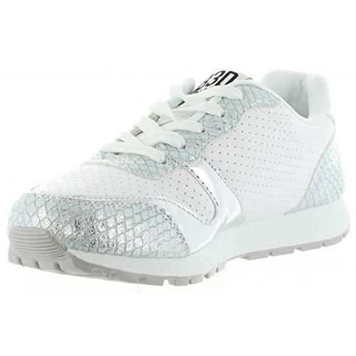 Zapatillas deporte de Mujer BASS3D 41338 C PLATA