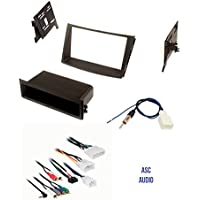 ASC Car Stereo Install Dash Kit, Wire Harness, and Antenna Adapter for Installing an Aftermarket Radio for some 2012 2013 2014 Subaru Legacy and Outback - Vehicles with Factory Amp and No Factory Nav