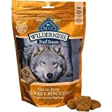 Blue Buffalo Wilderness Trail Treats Grain-Free Turkey Dog Biscuits, 10 oz.(2Pack)
