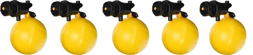 5 Yellow Black Rojo Float Valve 3//4 Jobe Valves J-RJV20