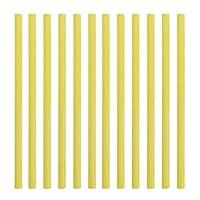 12pcs/Set Sewer Rod Drain Cleaner Sticks Kitchen Toilet Bathtub Sewage Decontamination to Deodorant Sewer Cleaning Tool : Yellow