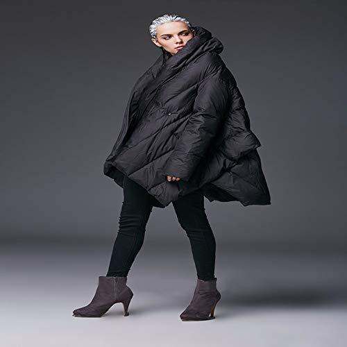 Giù Fashion Da Parka Warm X Cloak New Fxchen Giacca Donna Temperament Allentato Jacket Cappotto Invernale Overcoat Female xY8vvqwE