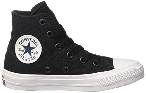 Converse Chuck Taylor All Star Glitter High Top Sneakers Negro / Blanco
