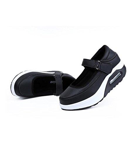 Shoes Shoes GRRONG Sports Women's Black Low qfwAv0H