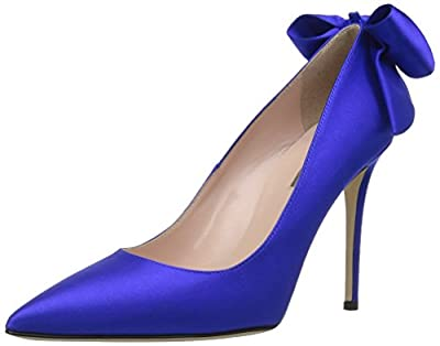 SJP by Sarah Jessica Parker Women's Lucille Pointed Toe Bow Pump