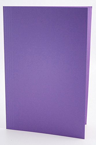 Concord Square Cut Folder Foolscap Medium Weight 270gsm Mauve 43214 Pack of 100