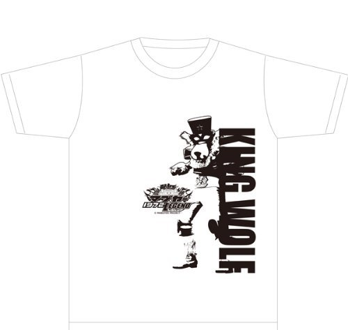Ryujin Mabuyer 1972 Legend T-shirt (King Wolf B) Size: M