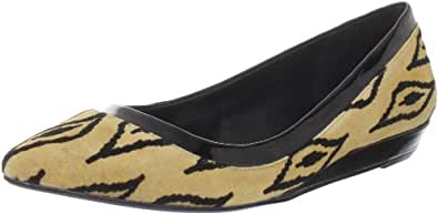 BCBGeneration Women's Alonsa Flat,Tribal Leopard,6 M US