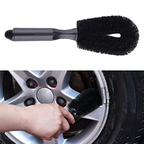 Voiture Moto Roue De Pneu Jante Gommage Brosse Hub Clean Wash Utile Brosse Camion De Voiture Moto V/élo Lavage Outils De Nettoyage