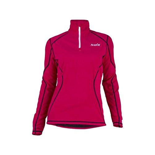 swix-starlit-polo-fleece-jacket-womens-bright-fuchsia-m