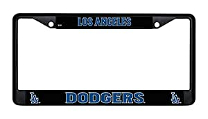 Amazon Com Los Angeles Dodgers Chrome License Plate