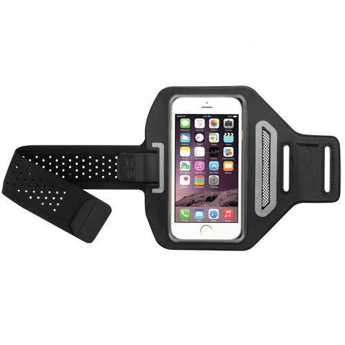 Sports Advanced Armband Pouch for LG G7 ThinQ, G6, Stylo 3, Stylo 2 V, V20, G Stylo 2, Stylus 2, G Vista 2, V10, G Stylo, G Flex 2, Black, w/ID Card Cash Holder, Breathable Design