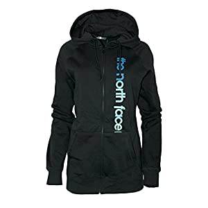 The North Face Women's 80/20 Full Zip Athletic Hoodie TNF Black/Mlt Color RTO (XLarge)