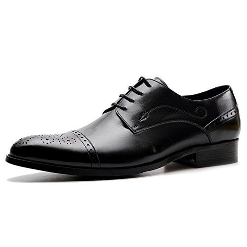 Wear Black Les Chaussures Formelles Chaussures Chaussures Business Bureau De Oxford Hommes Souliers Brogues Soirée Derbys Pour Toe wqITaRf1